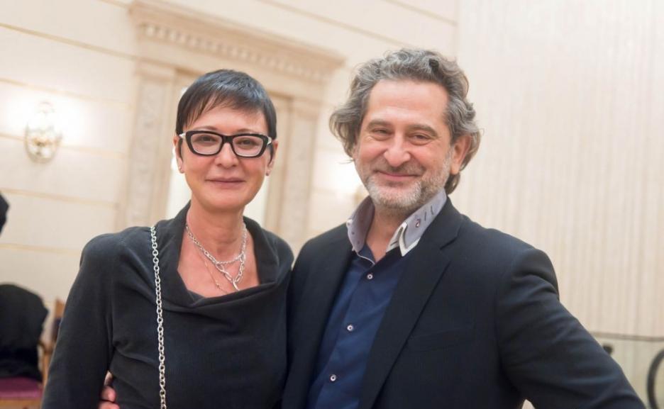Ирина Хакамада и Владимир Сиротинский